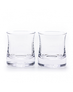 Pair of The Shoreham Whiskey Glasses Handcrafted by Simon Pearce